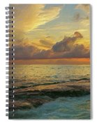 Paradise Sunset Spiral Notebook
