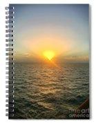 Paradise Sunset Oasis Spiral Notebook