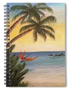 Paradise With Dolphins Spiral Notebook