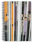 Parallel Lines Spiral Notebook