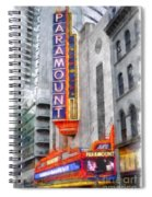Paramount Theater Boston Ma Spiral Notebook