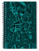 Paramount Turquoise Spiral Notebook