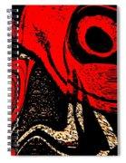 Paranoid Spiral Notebook