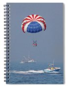 Parasailing In Florida Spiral Notebook