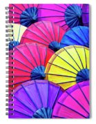 Parasols Spiral Notebook