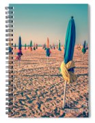 Parasols Of Deauville Spiral Notebook