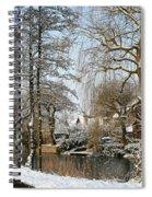Walk In A Snowy Park Spiral Notebook
