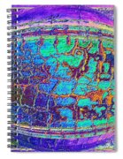 Parched Earth Abstract Spiral Notebook