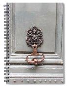 Paris Apartment - Paris Door Photography Spiral Notebook