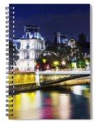 Paris At Night 22 Spiral Notebook