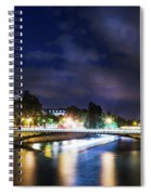 Paris At Night 23 Spiral Notebook
