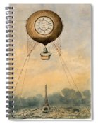 Paris, C1890 Spiral Notebook