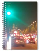 Paris Champs-elysees Unedited Spiral Notebook