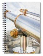 Paris City View 29 Spiral Notebook