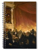 Paris: Comedie Francais Spiral Notebook