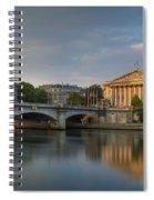 Paris Dawn Spiral Notebook