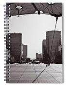 Paris Defense Spiral Notebook