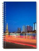 Paris Express Spiral Notebook