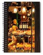 Paris Grocery Store Spiral Notebook