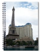 Paris Hotel Spiral Notebook