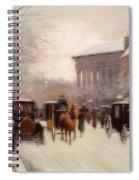 Paris In Winter Spiral Notebook