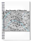 Paris Monumental Spiral Notebook