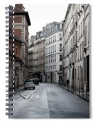 Paris Neighborhood Marais - No Right Turn 1 Spiral Notebook