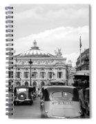 Paris Opera 1935 Spiral Notebook