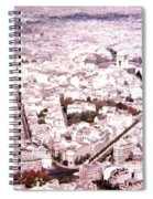 Paris Panorama 1955  Spiral Notebook