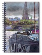 Paris Pont Alexandre IIi Spiral Notebook