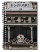 Paris Pool Hall Spiral Notebook