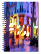 Paris Quartier Latin 02 Spiral Notebook