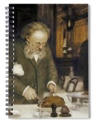 Paris: Restaurant, C1890 Spiral Notebook