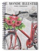 Paris Ride 2 Spiral Notebook