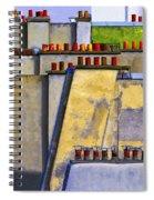 Paris Roof Tops 1 Spiral Notebook