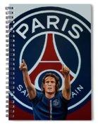 Paris Saint Germain Painting Spiral Notebook