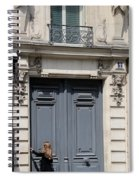 Paris Street Life 3 Spiral Notebook