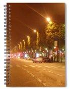 Paris Unedited Spiral Notebook