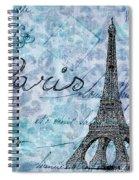 Paris - V01t01a Spiral Notebook