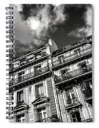 Parisian Buildings Spiral Notebook