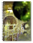 Parisian Holiday Spiral Notebook