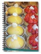Parisian Pastries Spiral Notebook