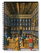 Parisian Pharmacy, 1624 Spiral Notebook