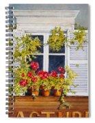 Parisian Window Spiral Notebook