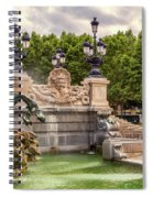 Park And Fountains Spiral Notebook