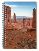 Park Avenue Arches National Park Spiral Notebook