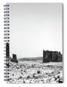 Park Avenue At First Light - Arches National Park Spiral Notebook