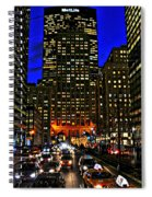 Park Avenue At Night Spiral Notebook