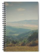 Park Bench Series - Misty Mountains Spiral Notebook