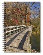Park Bridge Autumn 2 Spiral Notebook
